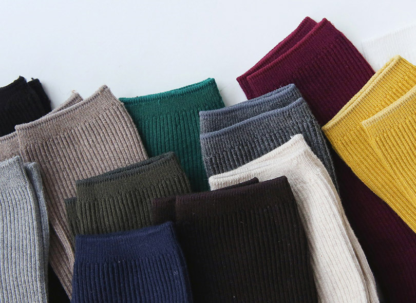 Envylook Corrugated Crew Socks