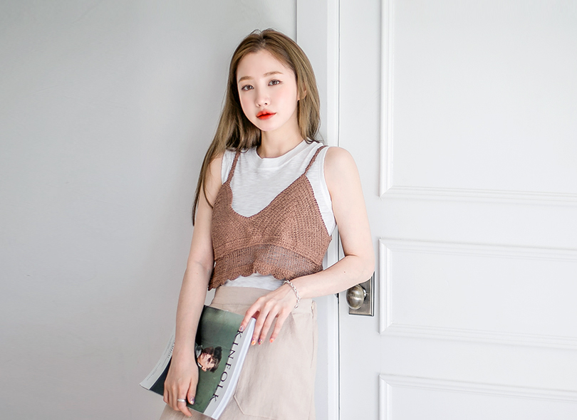 Envylook Simple Knitted Camisole