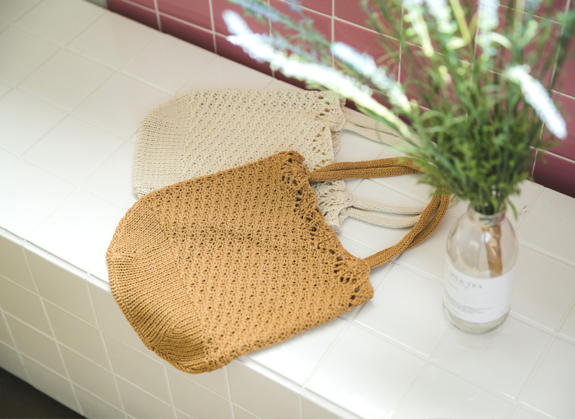 Envylook Knitted Fabric Bag